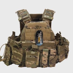 WO Military Tactical Vest Plate Carrier – Molle Style Vest With Pockets & Pouches